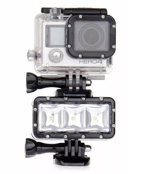 Lampara Led Sumergible Para Gopro For Hero 3 3+ 4 5 6 7