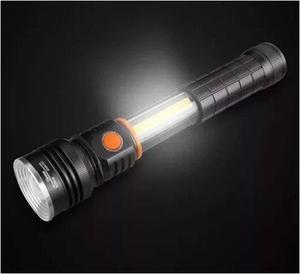 Lampara Tactica Multifuncion 3000 Lumens + Iman + Tubo Led