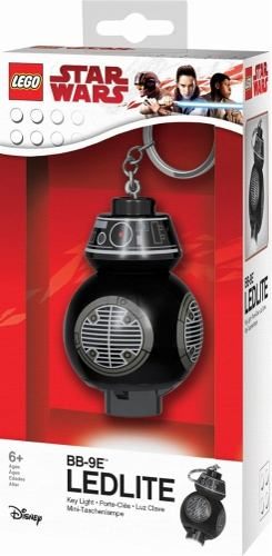 Lego Star Wars The Last Jedi Bb-9e Led Llavero Linterna