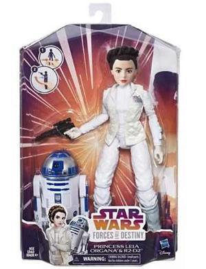 Leia R2 D2 Forces Of Destiny Star Wars