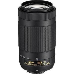 Lente Af-p Dx Nikkor 70-300mm F/4.5 - 6.3g Ed Vr - Negro