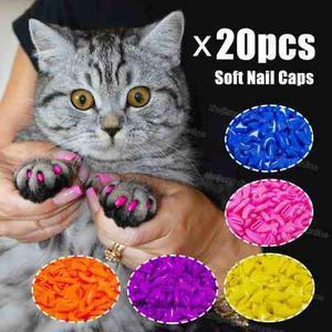 Lote 12 Paquetes De Protectores Uñas Para Gato Envio Gratis