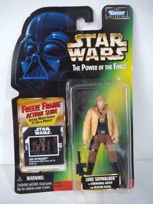 Luke Skywalker Freeze Frame Star Wars The Power Of The Force