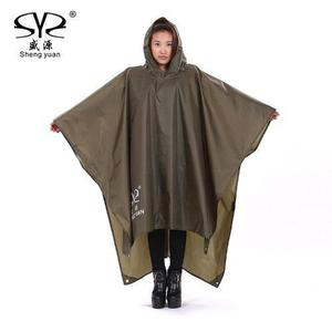 Manga Impermeable Tactico Lluvia Capucha Poncho East West