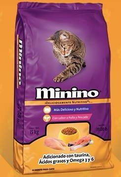 Minino Alimento Para Gato 15kg Envió Gratis Petguru