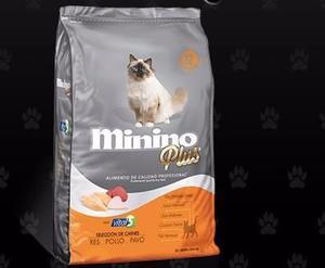 Minino Plus Alimento Para Gato 10kg Petguru