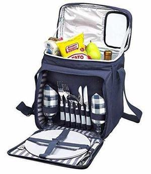 Mochila Backpack Morral Picnic Lunch Tote Cooler Enfriador