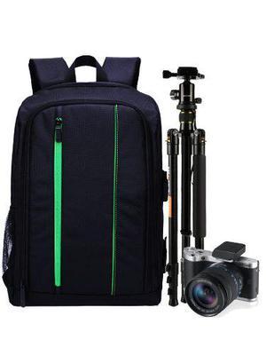 Mochila Backpack Reforzada Camara Profesional Dslr Laptop Ms