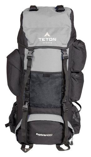 Mochila De Viaje Acampar Expedición Teton 4000 Scout 65lt