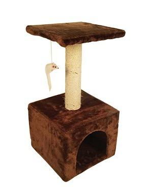 Mueble Para Gato Con Juguete 60 Cm