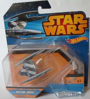 Nave Vulture Droid Star Wars Hot Wheels Base/aplique Dedo