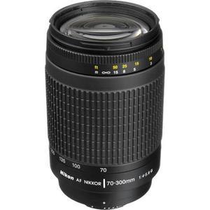 Nikon Lente Af Zoom-nikkor 70-300mm F/4-5.6g Mas Filtro 62mm