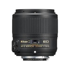 Nikon Lente Af-s Nikkor 35mm F/1.8g Ed Full Frame