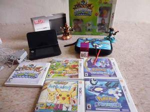 Nintendo 3ds Xl + 6 Juegos + Estuche + 2 Plumas