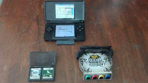Nintendo Ds Lite Con Guitar Hero