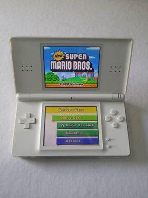 Nintendo Ds Lite Usado Funciona Al 100 + New Super Mario