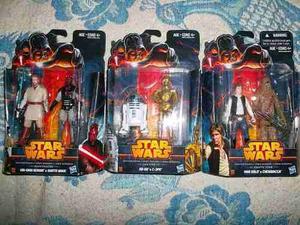 Obi Wan Darth Maul C3p0 R2d2 Chewbacca Han Solo Star Wars