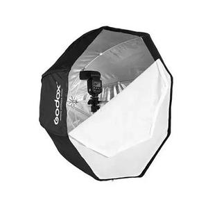 Octabox Softbox Godox Sombrilla 120cm Para Flash Speedlite