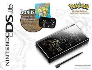 Pack De Pokemon Para Nintendo Ds Limited Edition