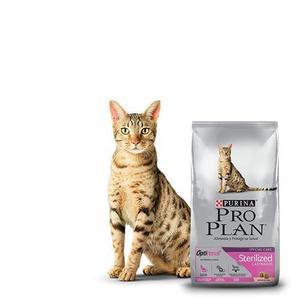Proplan Cat Esterilizado Alimento Para Gato 3kg Petguru