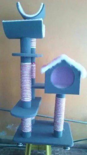 Rascadorador Gatos Mueble 4 Niveles Juguete Envio Gratis