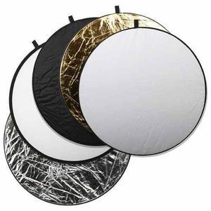 Reflector 5 En 1 Para Fotografía De 110cm De Diámetro