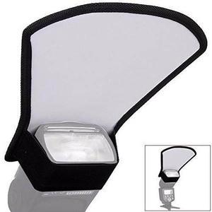 Reflector Difusor Para Flash 2 Caras Plata/blanco