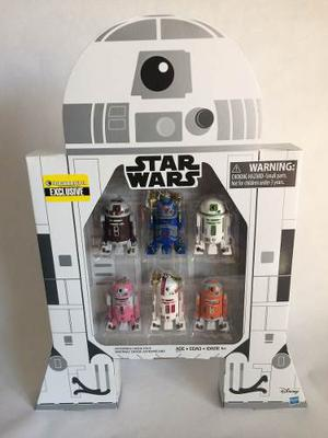 Set Droids Astromech Star Wars Exclusivos Ee Hasbro