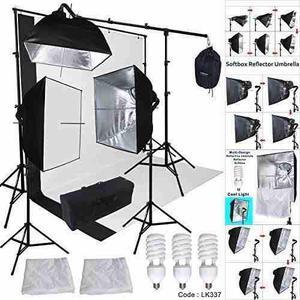 Set Equipo De Luz Para Fotografia Linco Studio
