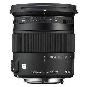 Sigma 17-70mm Contemporánea F2.8-4 Dc Hsm Os Lente Macro -