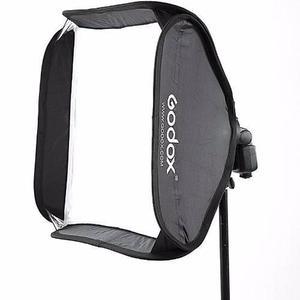 Softbox Godox 60x60 Para Speedlite Y Tripie 260cms