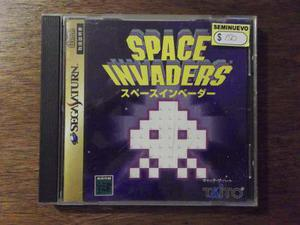 Space Invaders (japonés) Sega Saturn Shoryuken Games