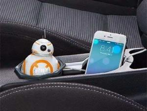 Star Wars Bb-8 Usb Cargador Para Carro R2d2 Disney Thinkgeek