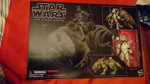 Star Wars Black Series 6 Dewback & Sandtrooper