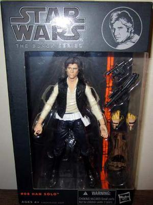 Star Wars Black Series 6 Han Solo