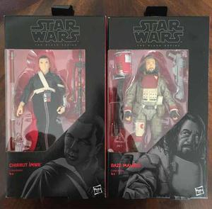 Star Wars Black Series Chirrut Imwe Baze Malbus Rogue One