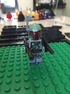 Star Wars Boba Fett Despertar De La Fuerza Compatible Lego