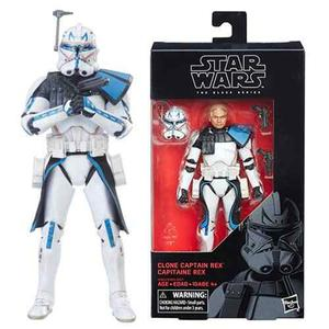Star Wars Clone Captain Rex Black Series 6