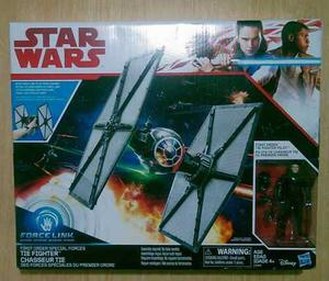 Star Wars Nave Tie Fighter Con Figura Piloto Force Link