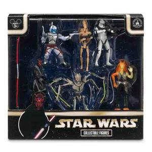 Star Wars Set Precuelas 6 Figuras De Coleccion Disney Store