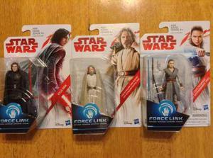 Star Wars The Last Jedi 3 3/4 Luke Skywalker Rey Kylo Ren