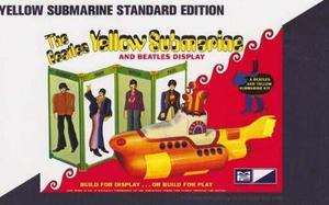 Submarino Amarillo De Los Beatles Plástico Kit Modelo!
