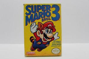 Super Mario Bros 3 Con Caja Nes Consolas De Luigi