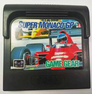 Super Monaco Gp Sega Game Gear Cartucho Retromex Tcvg