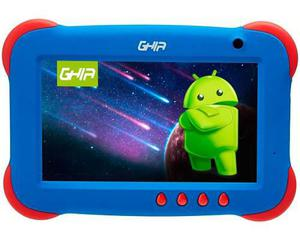 Tablet Ghia Any Kids Android Quad Core 1gb 8gb Uso Rudo Azul