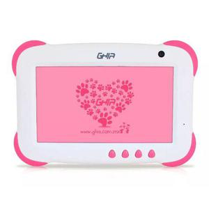Tablet Ghia Any Kids Rosa Quad Core Android 5.1 8gb Camara