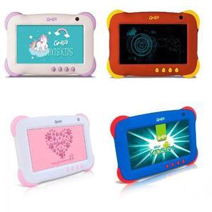 Tablet Ghia Kids Violeta Uso Rudo 7 P 8gb Quadcore Unicornio
