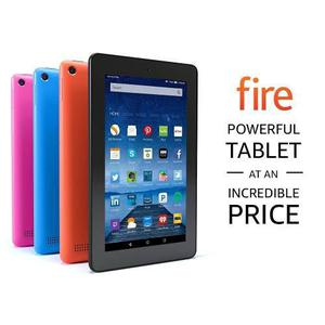 Tablet Kindle Fire 7 Con Alexa 8gb Android 2mp Hd 1ghz Ram