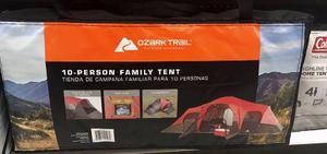 Tienda Casa De Campaña Para 10 Personas Ozark Trail