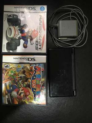 Vendo Nintendo Ds Con Dos Juegos Mario Party Y Mario Kart